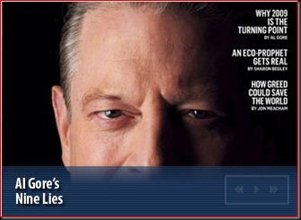Al Gore  9 lies