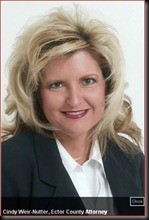 Cindy Weir-Nutter, Ector County Attorney