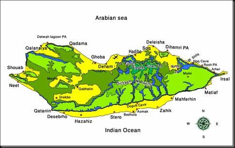 Socotra Island Map