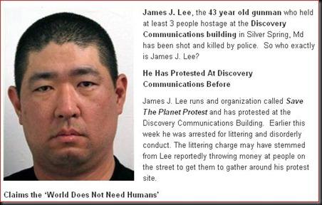 James J. Lee, the 43 year old gunman