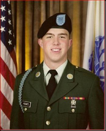 Pfc. Andrew Holmes of Boise, Idaho