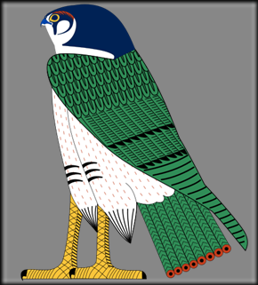29 -Horus_as_falcon.svg