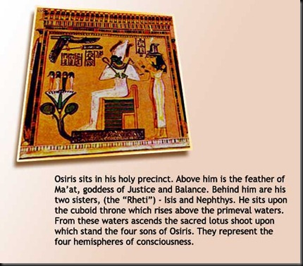 37 - Osiris Isis Nephthys