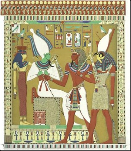 38 A -Horus Isis Osirus