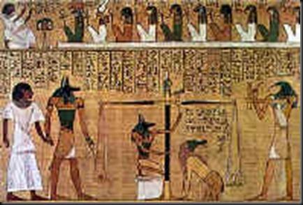 50 A Osiris Horus Thoth Anubis