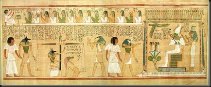 50 - Osiris Horus Thoth Anubis