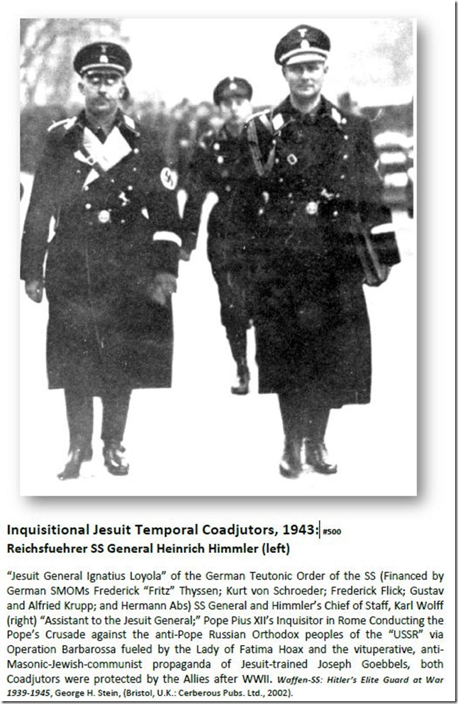 Inquisitional Jesuit Temporal Coadjutors, 1943