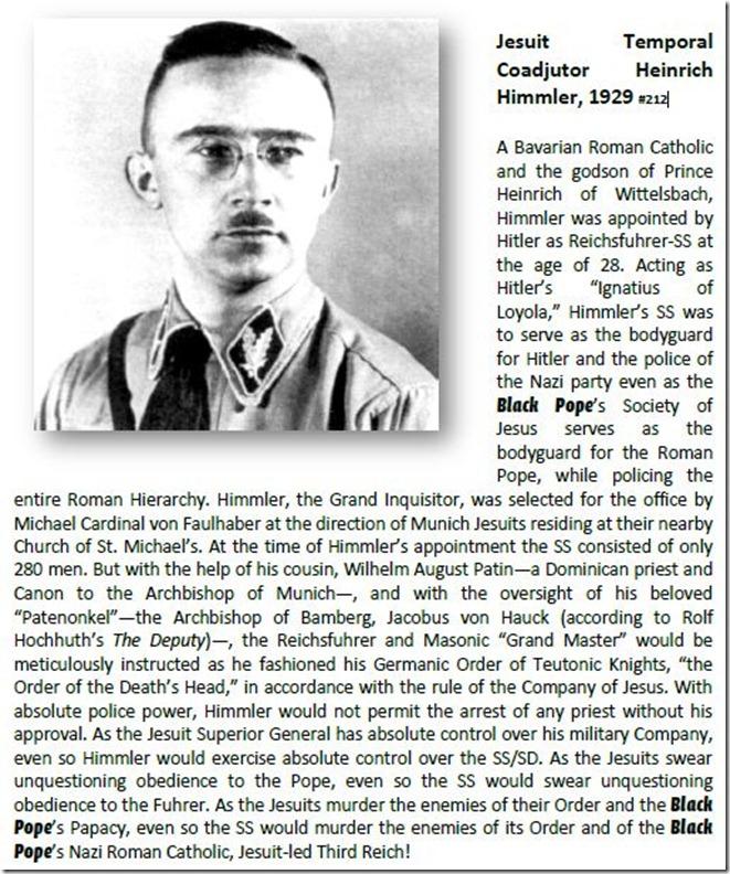 Jesuit Temporal Coadjutor Heinrich Himmler, 1929