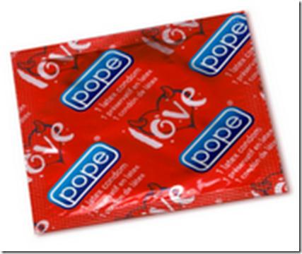 Pope condoms b