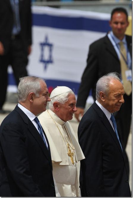 Pope Benedict XVI Shimon Peres Pope Benedict spS4heVdTftl