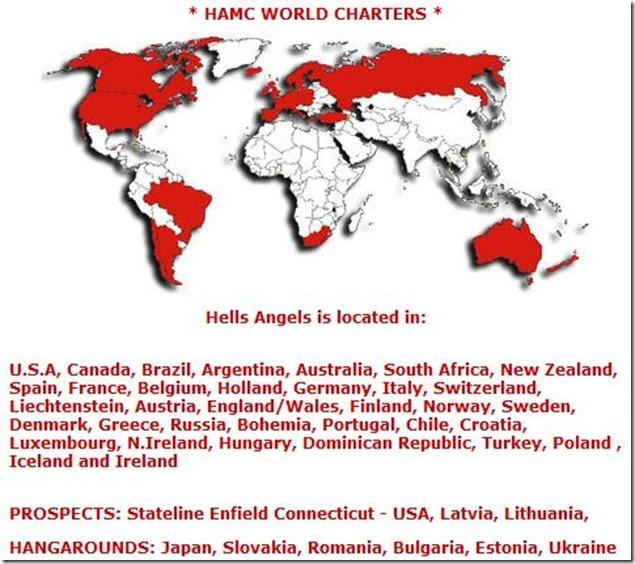 HAMC-world Charters -map