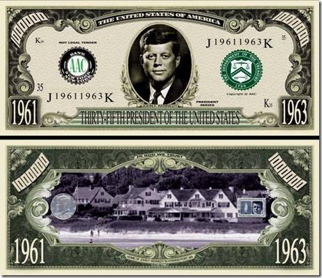 35thPresidentJohnF.KennedyBillTJ6