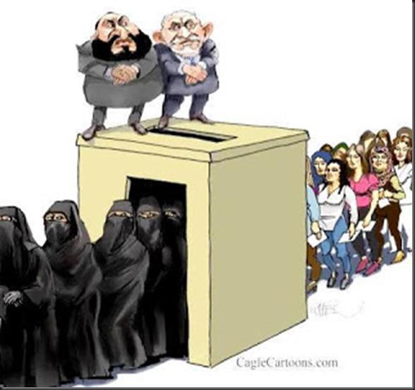 Women dress code Libya university